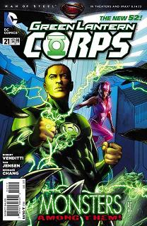 Green Lantern New Guardians 21