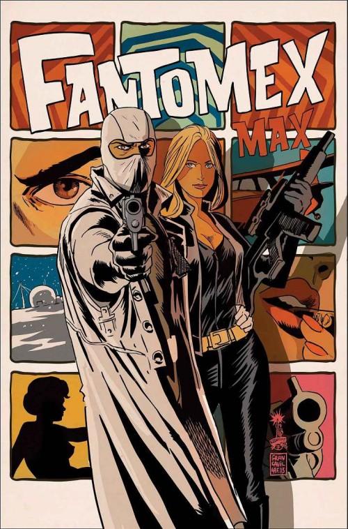 Portada de Fantomex 1, de Francesco Francavilla