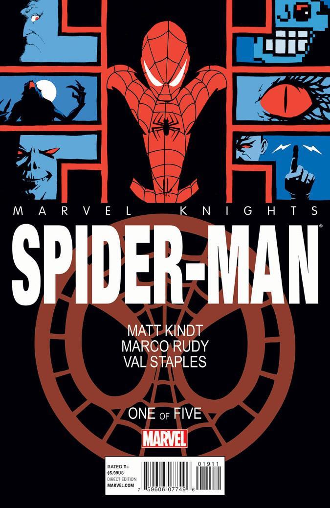 MK: Spiderman Portada 1