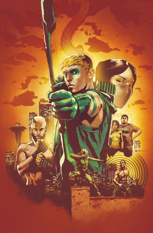 green arrow 24 lemire sorrentino