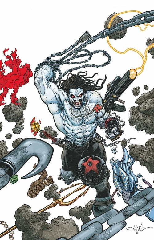 justice league 23 lobo kuder