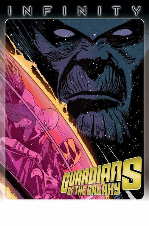 Portadas de Infinity 6 y Guardians of the Galaxy 9
