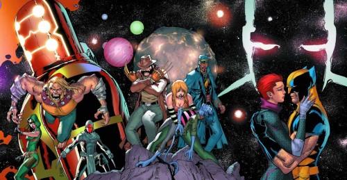Los tres equipos de X-Men de tres realidades distintas