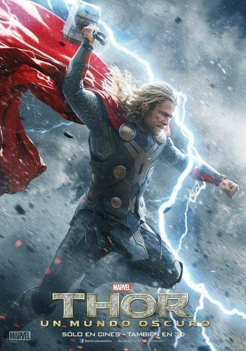 Thor 2: El Mundo Oscuro - Poster Internacional 2