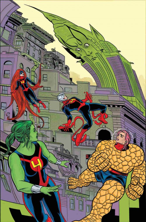 portadas_FF_Mike_allred_matt_fraction