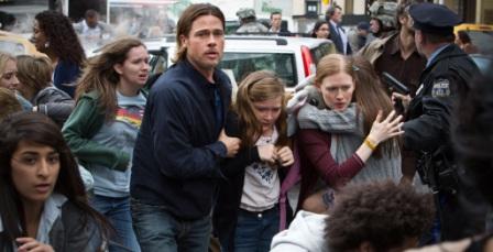 Brad Pitt, único protagonista del film. Al fin y al cabo, es su película.