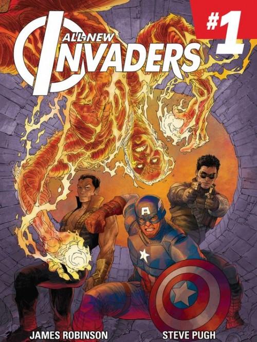 Portada de All-New Invaders 1