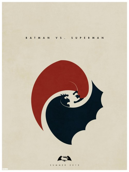 Batman vs. Superman, poster no oficial de Matt Ferguson y según Tsujihara, la punta del iceberg de Warner/DC