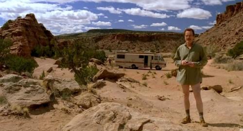 Walter, Jesse y el desierto
