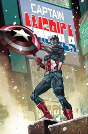 Portada de Capitán América 11, por Carlos Pacheco