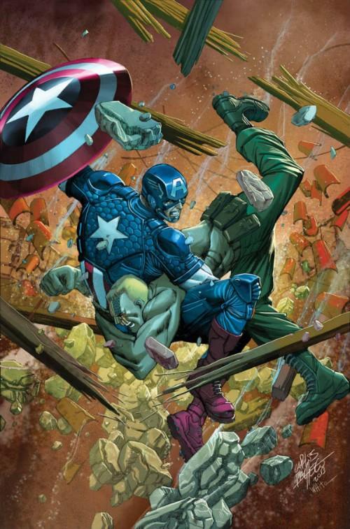 Portadas de Capitán América 11 y 12