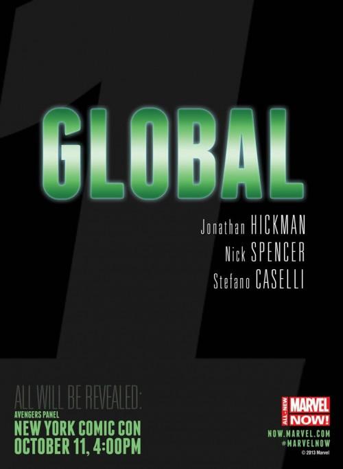 Global Avengers Hickman Spencer Caselli Teaser Marvel
