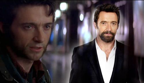 A pesar de que se mantenga bien, al contrario que ocurre con Lobezno, ¡el tiempo sí pasa para Hugh!