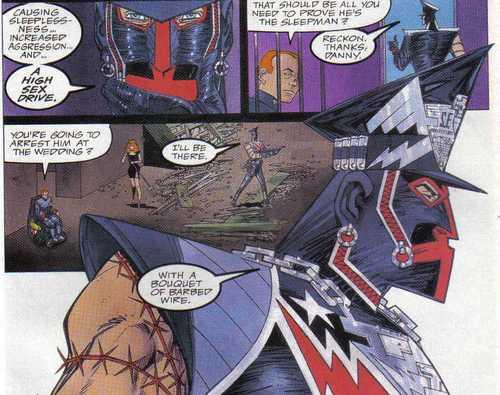 Marshal Law tiene poca consideración con los superheroes