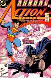 Portadas de los números de Action Comics contenidos en este tomo
