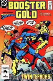 Portadas de Superman y Booster Gold incluidas en este tomo