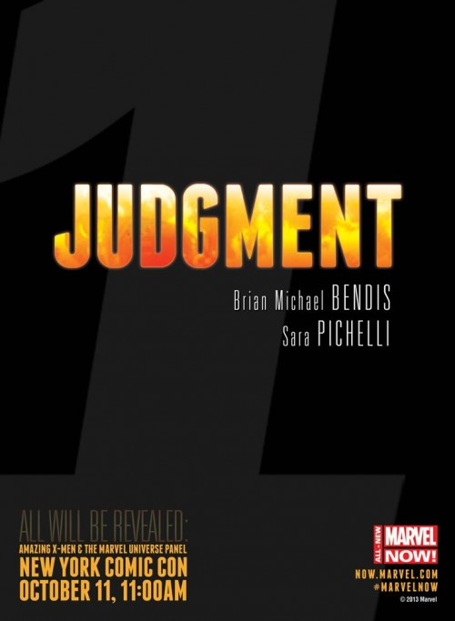 Judgment Bendis Pichelli Teaser Marvel