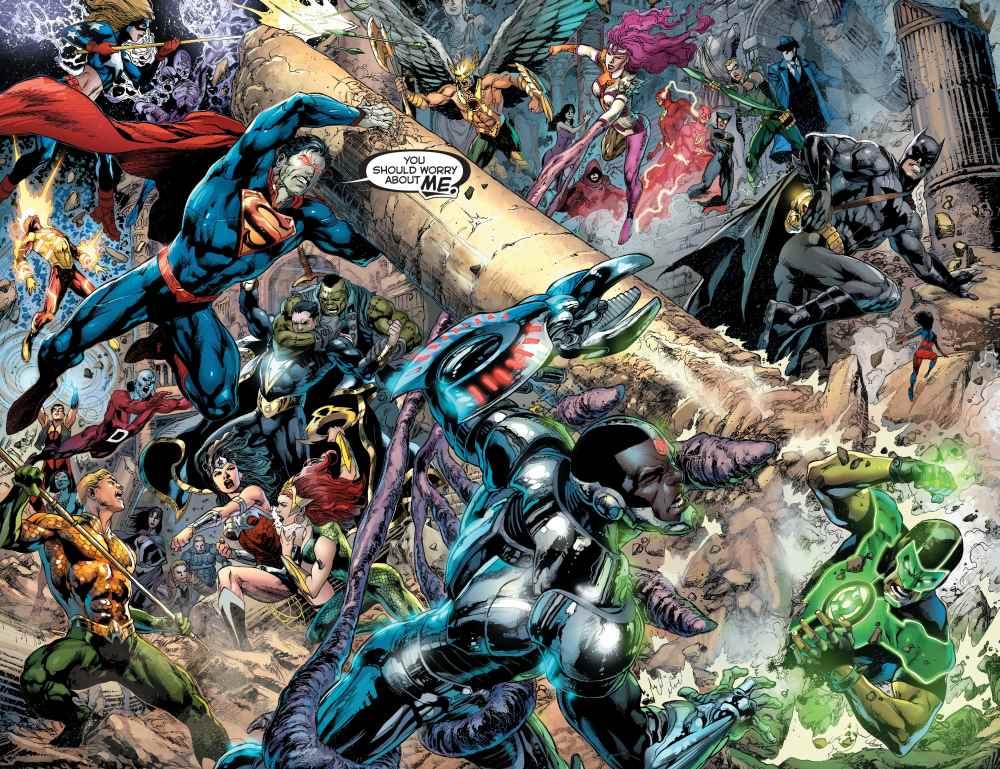 Justice League  023 splash reis
