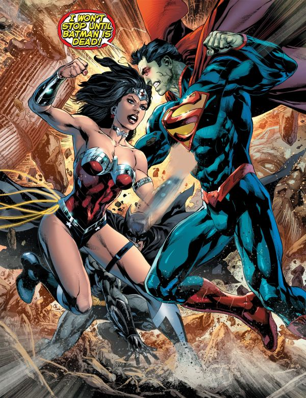 Justice League 023 superman wonder woman