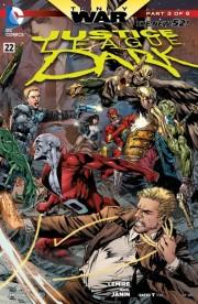 Justice League Dark 22 cover ivan reis