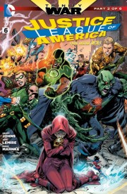 Justice League of America 6 cover ivan reis