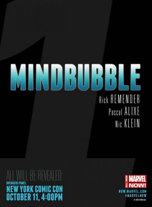 Mindbubble Remender Pascal Alixe Teaser Marvel