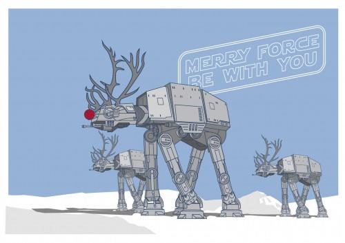 Star Wars + Navidades... ¿por qué no se le había ocurrido a nadie?