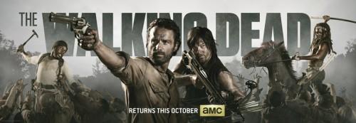 Imagen promocional de la cuarta temporada de The Walking Dead.