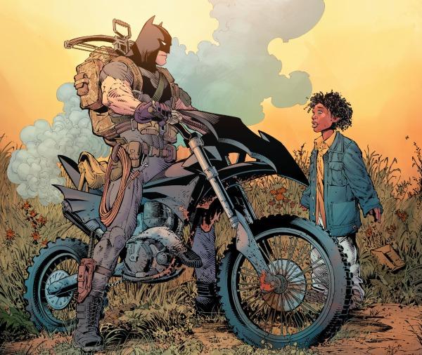batman 21 capullo batman bike