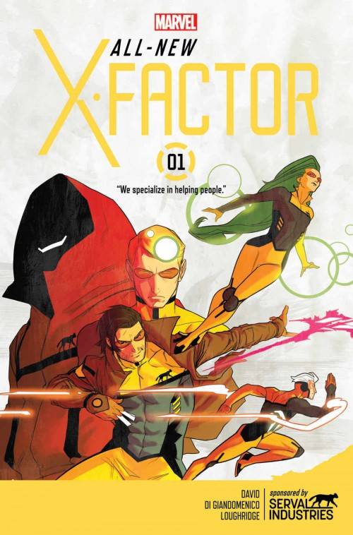 All New X-Factor Peter David
