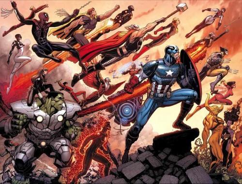 Avengers World Hickman Spencer Caselli Arthur Adams