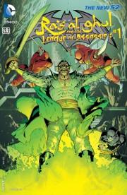 Batman and Robin 23.3 Ras al Ghul and League of Assassins