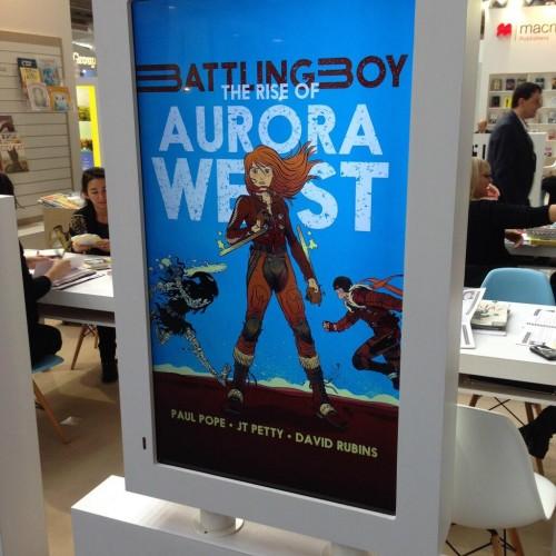 Battling Boy The Rise of Aurora West David Rubin Paul Pope