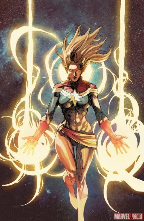 Capitan Marvel Leinil Yu