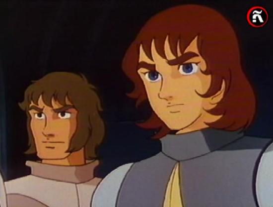 El Rey Arturo y Tristan anime