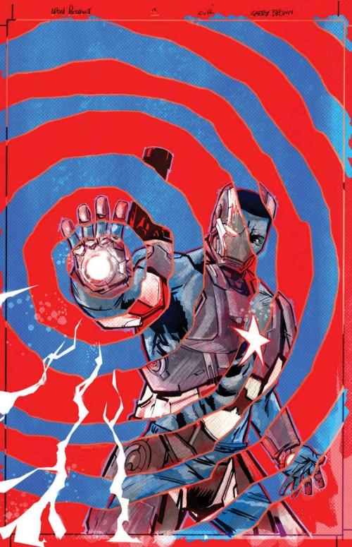 Portada de Iron Patriot 1