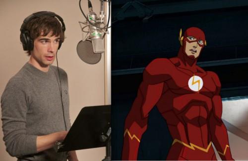 Christopher Gorham pone la voz a este Flash con gusto por las armaduras a la Jim Lee.