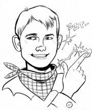 Kid-McAllister-Sketch-David-Lapham-Dark-Horse-Comics