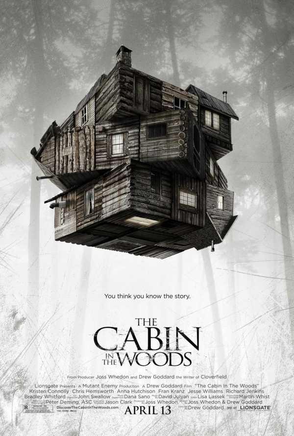 poster La cabaña en el bosque