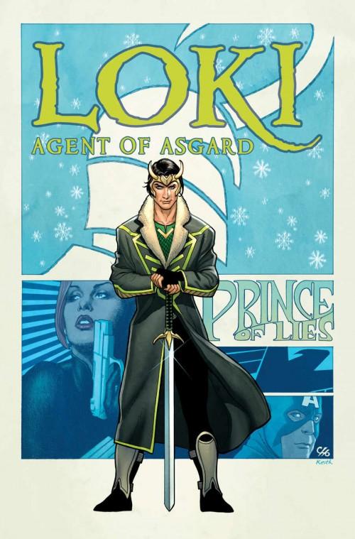 Loki 1, por Frank Cho.
