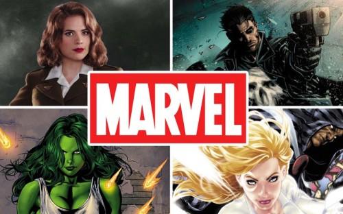 ¿Cuatro nuevas series de personajes Marvel?