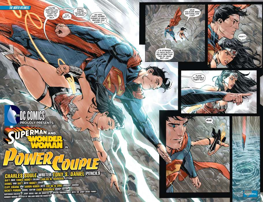 Superman-Wonder Woman 1-1 daniel soule