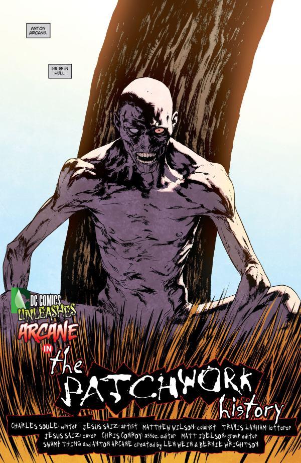 Swamp Thing 23.1 arcane saiz