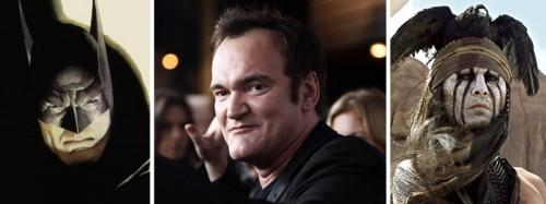 A Tarantino ni le va ni le viene quién se encuentre bajo la máscara de Bats.