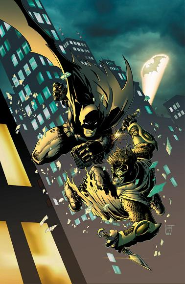 Portada del Talon #12 por Ken Hunt