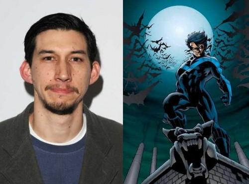 Adam Driver podría ser Nightwing