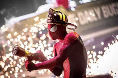 Spider-Fireman