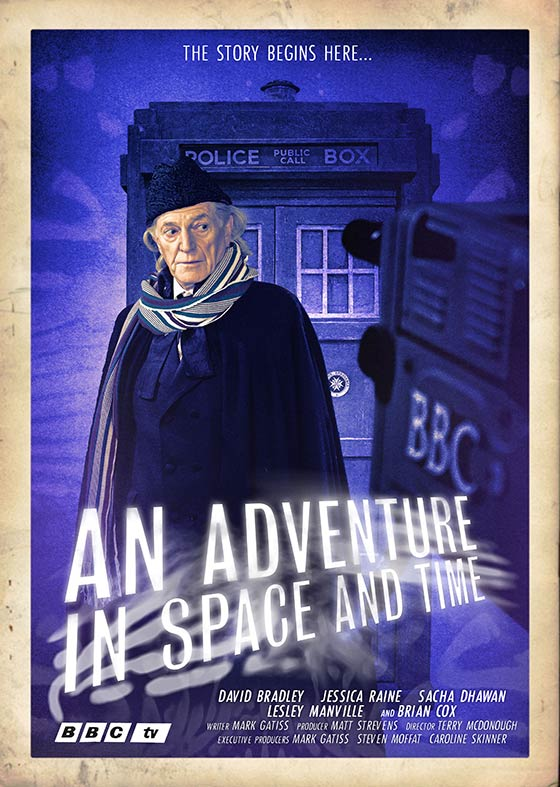 An_Adventure_in_Space_and_time_Poster