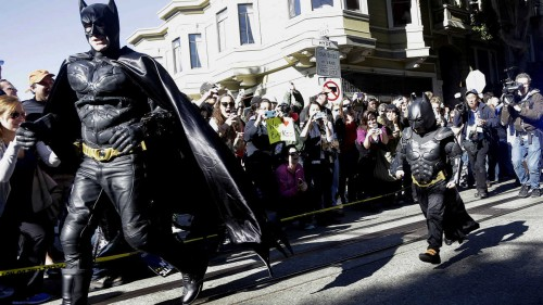 Batkid salvando Gotham o el poder de un símbolo