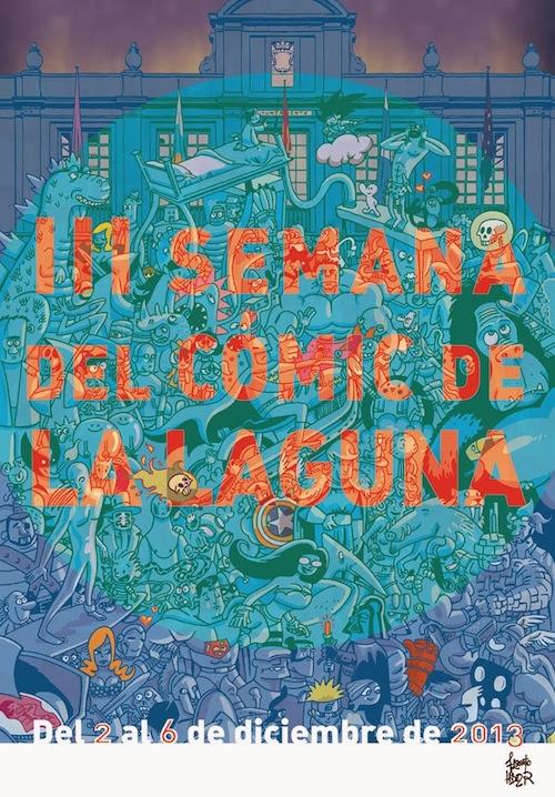 Cómic en La Laguna, por Alberto Hernández